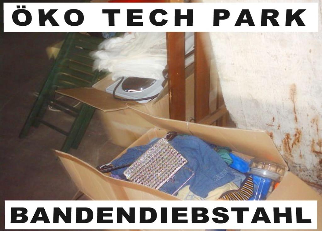 Öko Tech Park Bielefeld Markus Andreas Meyer-Stork lässt stehlen